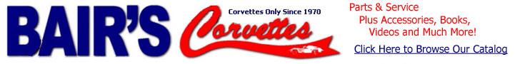Bair's Corvettes